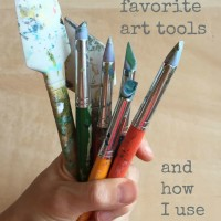 my favorite art tools